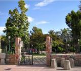 ingresso parco comunale di via Fiume in Sestu