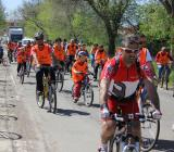 foto pedalata di gruppo del 25 aprile 2012