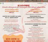 """Locandina evento """"Stop alla violenza, diamo valore alla differenza"""""""