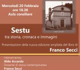 copertina del libro di Franco Secci con immagine della chiesa di Sant'Antonio